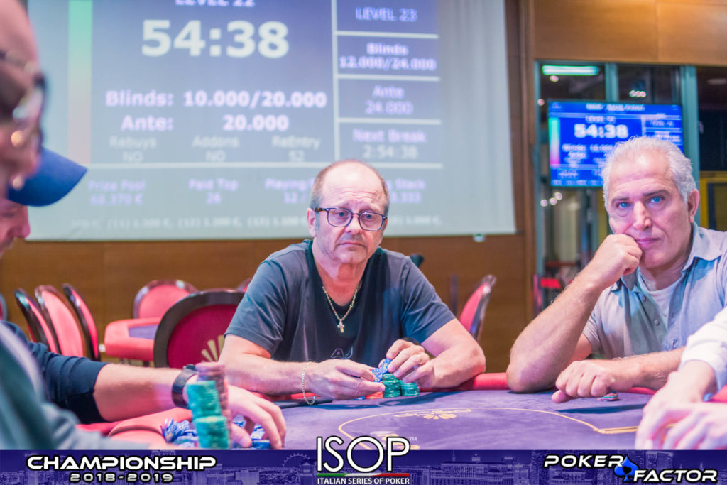 Paolo Colombini main event isop championship 2018 2019