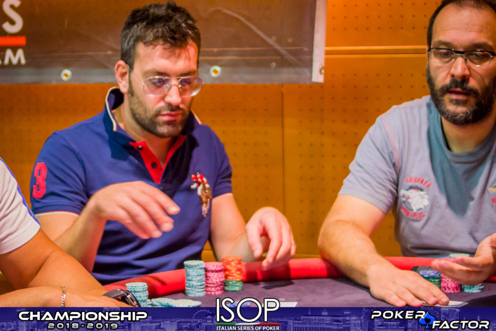 Sebastiani main event day2 isop championship evento 2