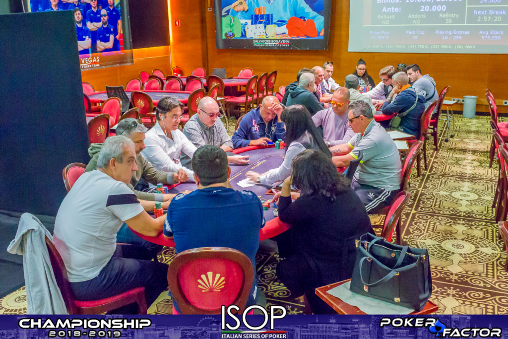 final day main event isop championship