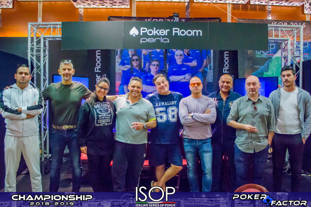 final table main isop championship 2018/2019