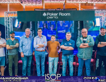 final tv table main event isop championship 2018 2019