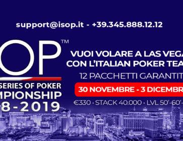 ISOP Championship 2018-2019 evento 3 - dal 30 novembre al 3 dicembre