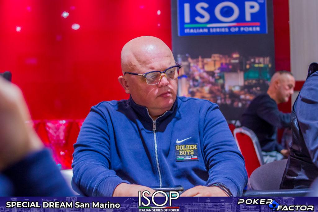 Fabio Foschi, vincitore ISOP Championship