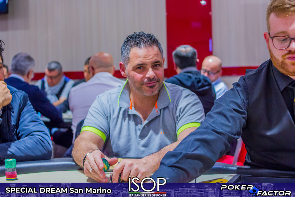 Christian Magi, Italian Poker Team 2018