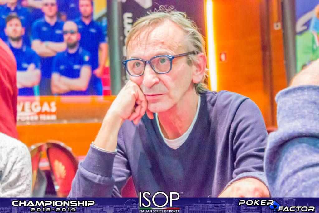 Sandro Monaco isop championship main day1A
