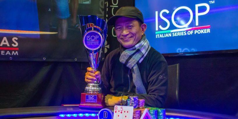 Antonio Alba vince main event isop championship 2019-2019 ev. 3