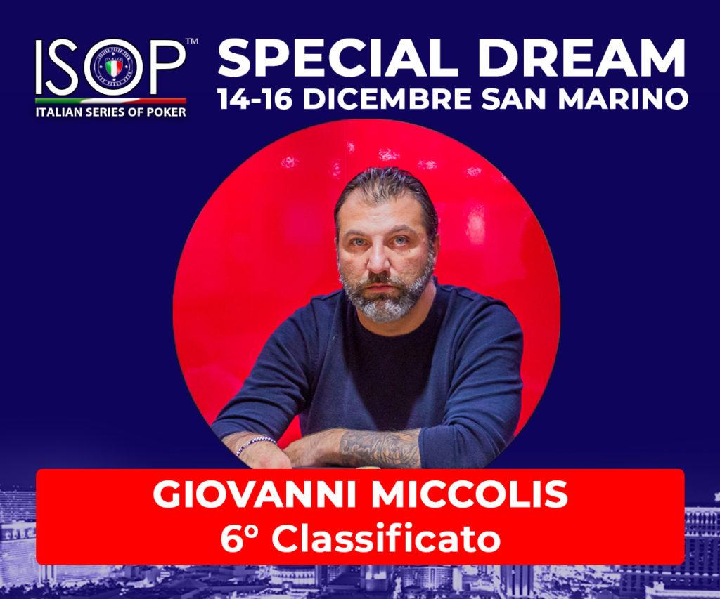 6 classificato giovanni miccolis isop special dream san marino