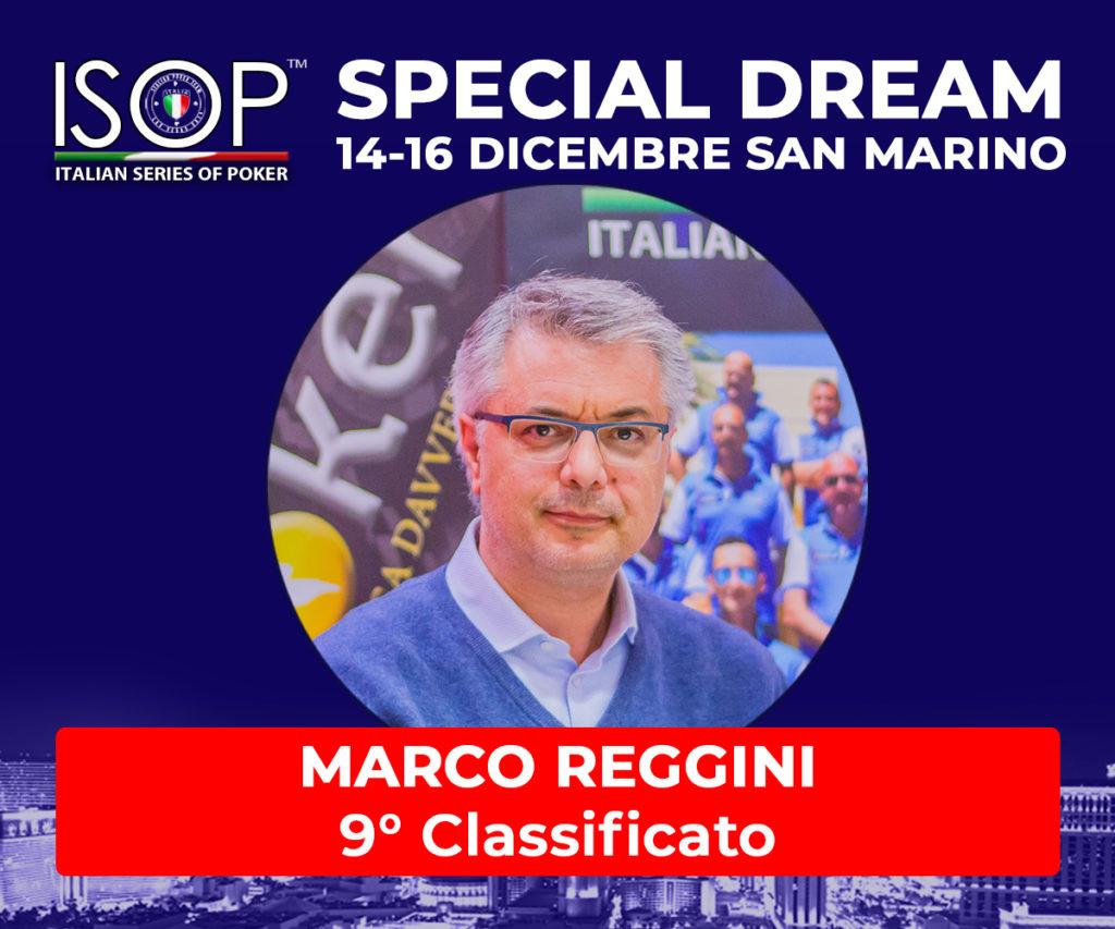9 CLASSIFICATO REGGINI marco isop special dream