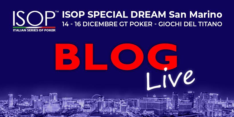 BLOG LIVE ISOP Special Dream San Marino
