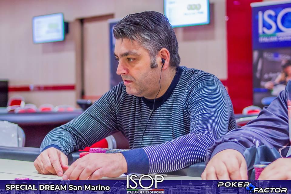 Marco Parcaroli main event special dream isop