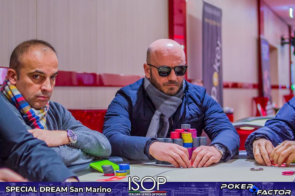 Antonio Falocco isop special dream day2 main event