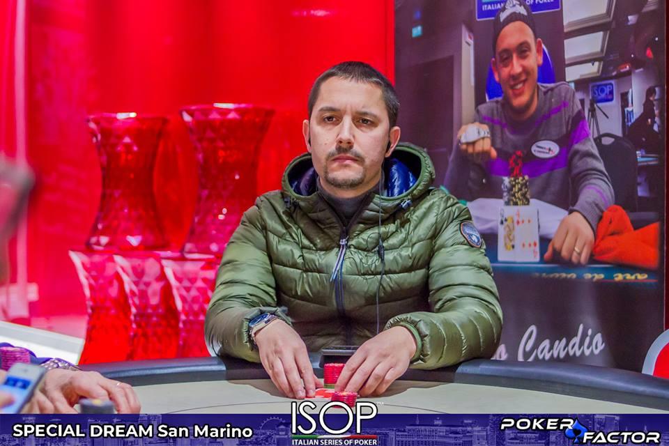 Francesco Ficosecco isop special dream main event day2
