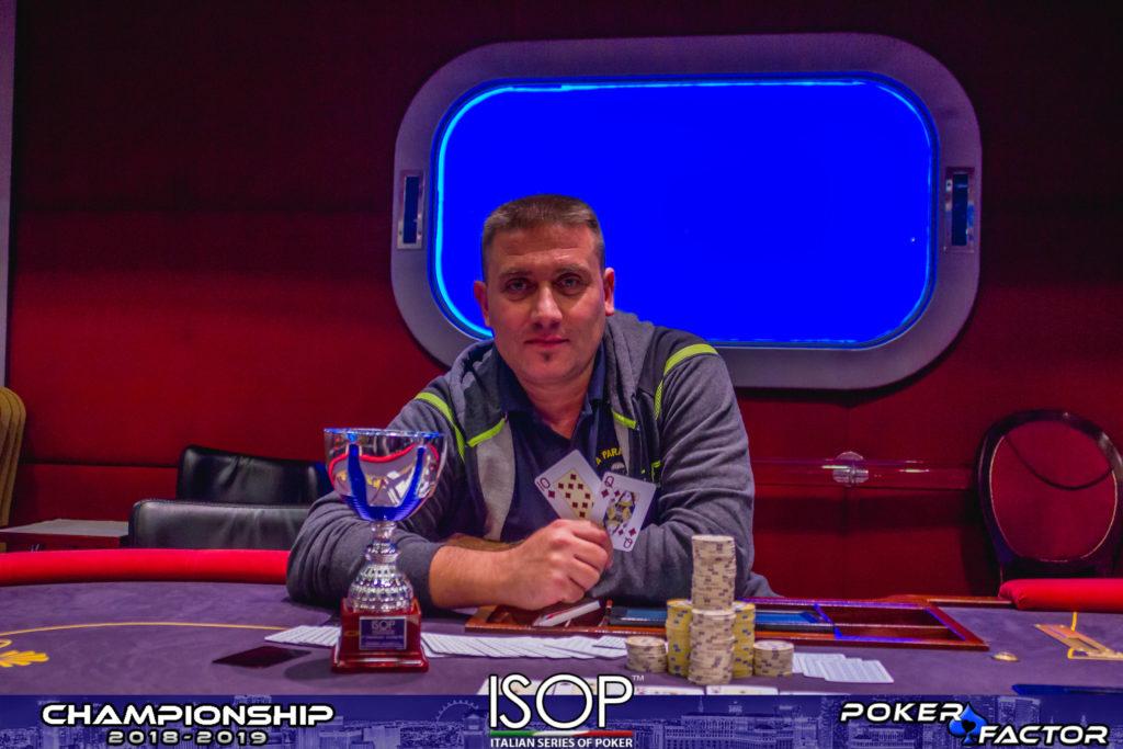 Sergio Bassi vincitore Sunday Pro isop championship 2018/2019