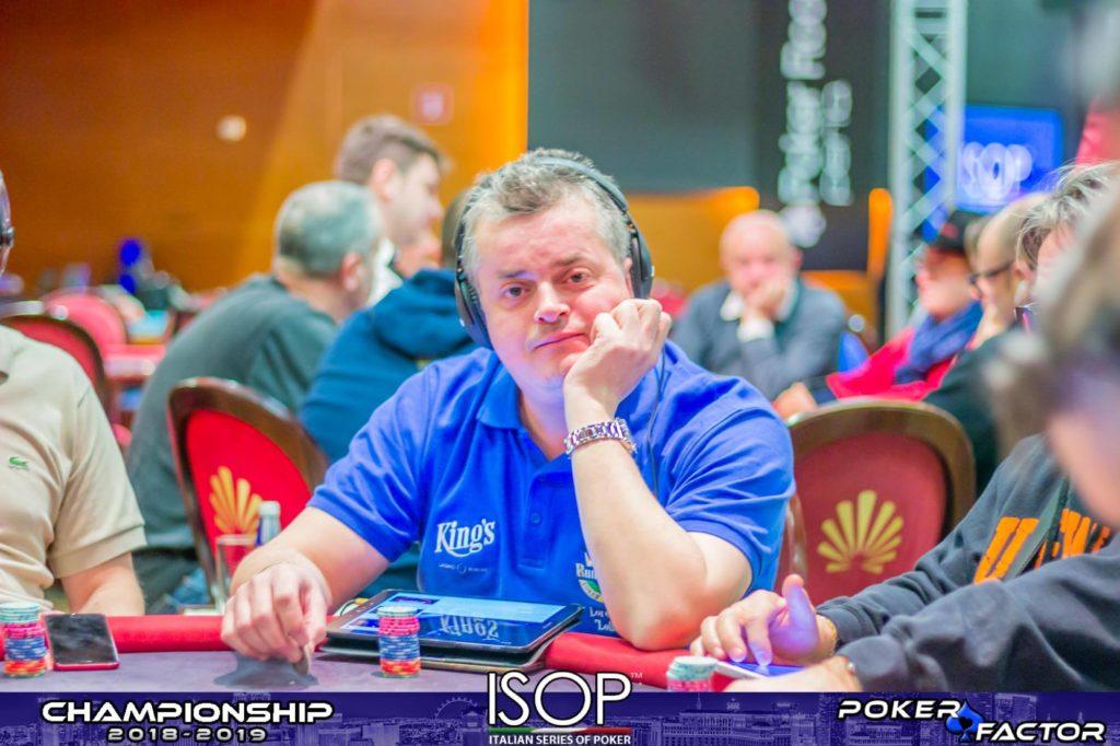 Lorenzo Bonesso day 1B main event isop championship 2018-2019 ev.4