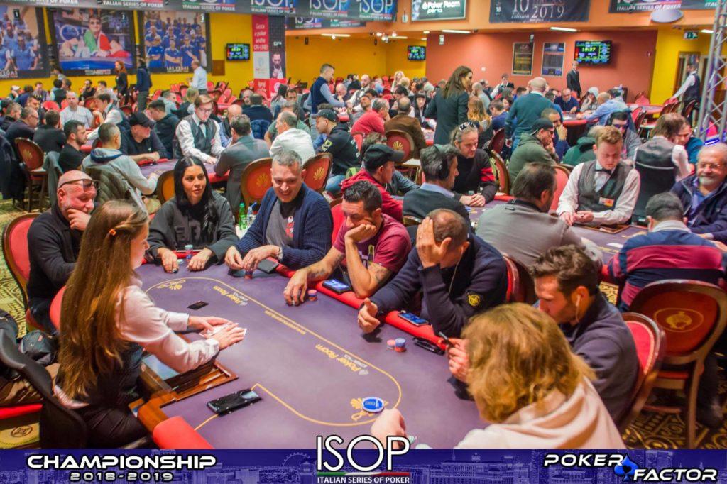 panoramica day 1B main event isop championship 2018-2019 ev.4