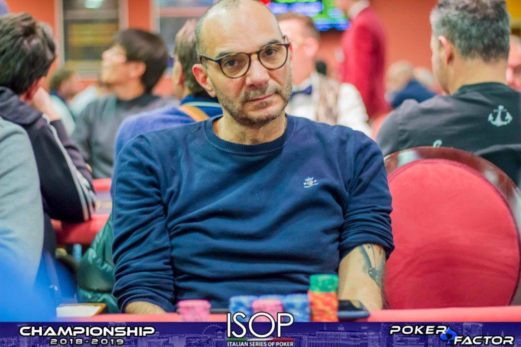 Silio Schifalacqua chipleader day 1A Main Event isop championship 2018-2019 ev.4