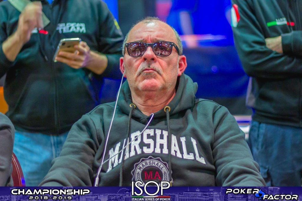 Giorgio Longo main event isop championship 2018-2019 ev.4 day 2