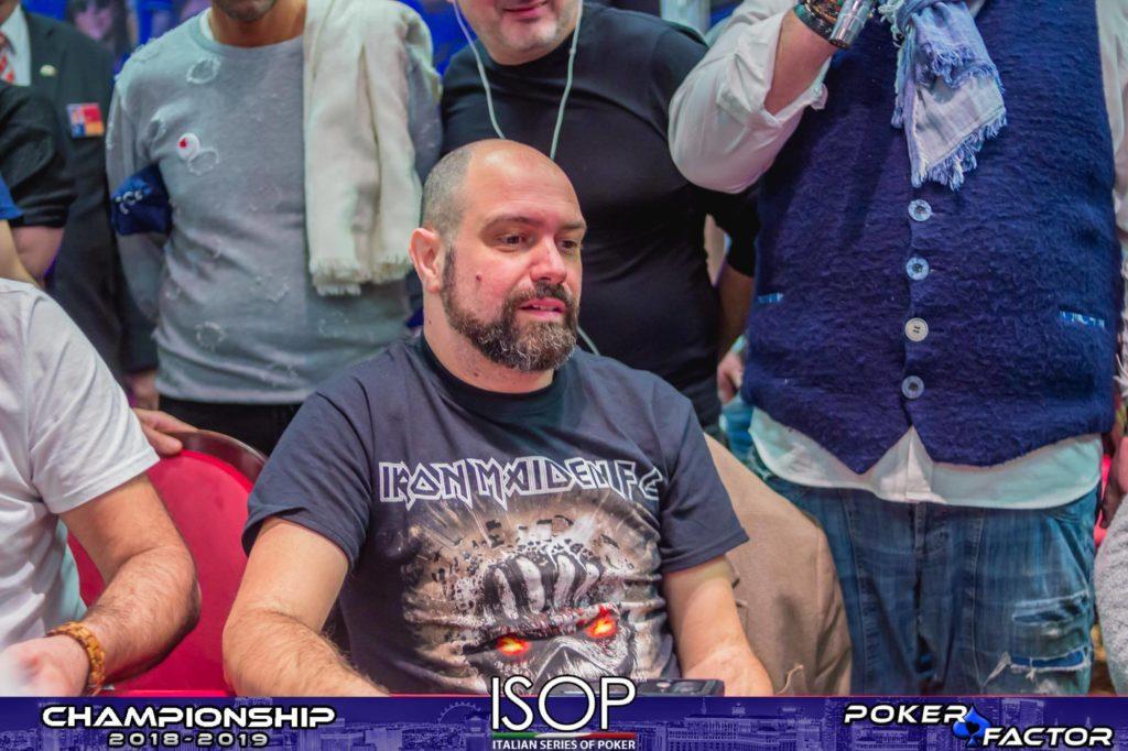 Alessio Coluccia bolla main event isop championship 2018-2019 ev.4 day 2