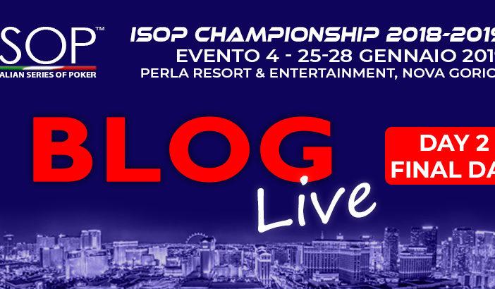 isop championship gennaio blog live