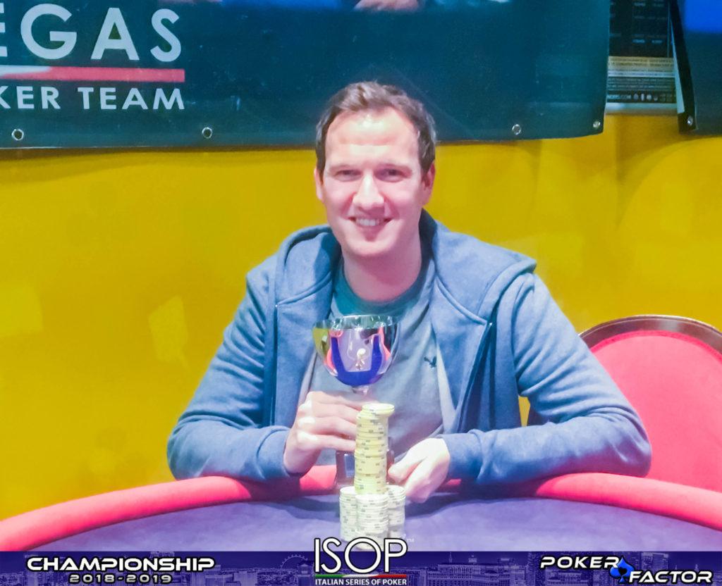 Sven Deutschmann vincitore omaha light isop championship 2018-2019 ev.4