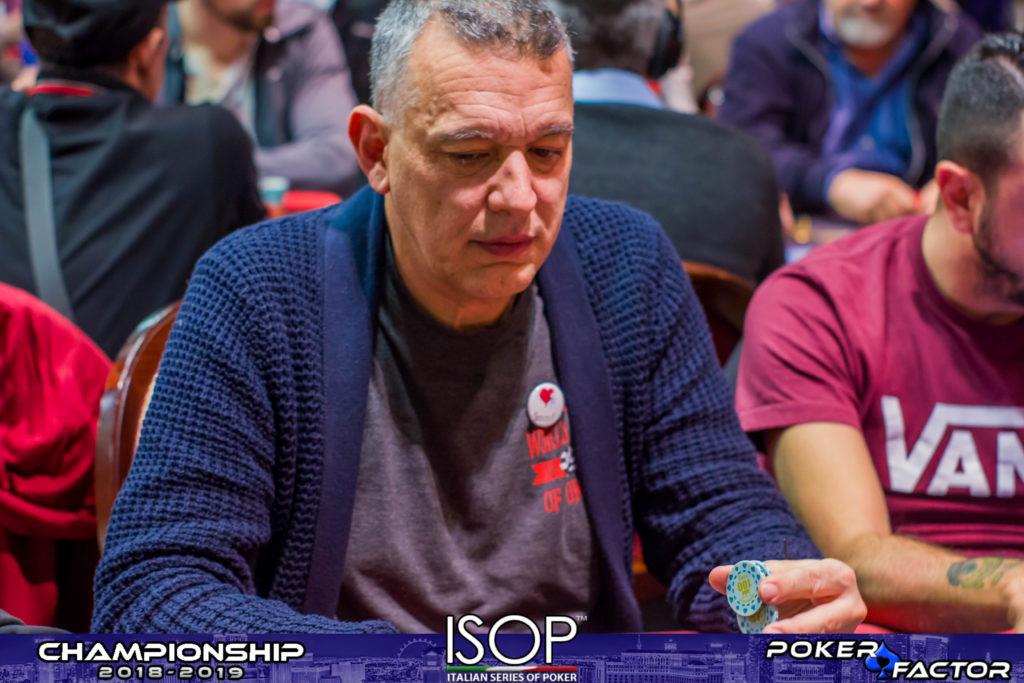 Giorgio Silvestrin day 1B main event isop championship 2018-2019 ev.4