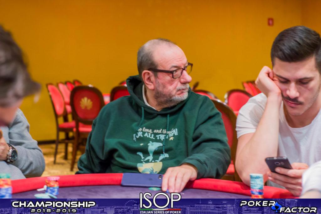 Dario De Toffoli day 1B main event isop championship 2018-2019 ev.4