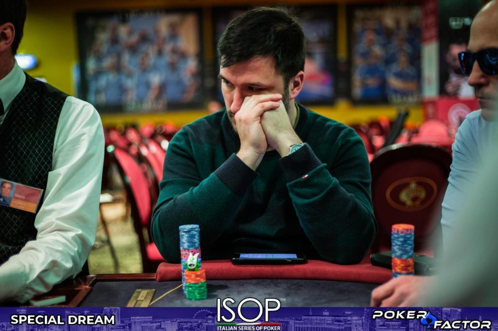 Lorenzo Ciccarelli isop special dream main event final day