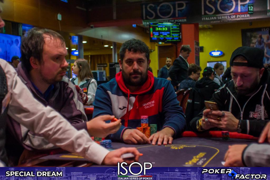 Lorenzo Acampora isop special dream final day