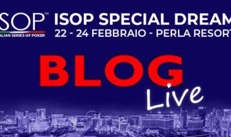 ISOP Special Dream BLOG Live banner