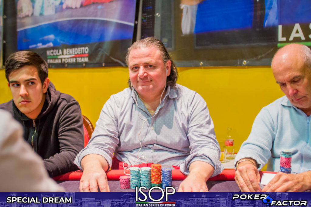 Loris Scattolin day 1B main event isop special dream