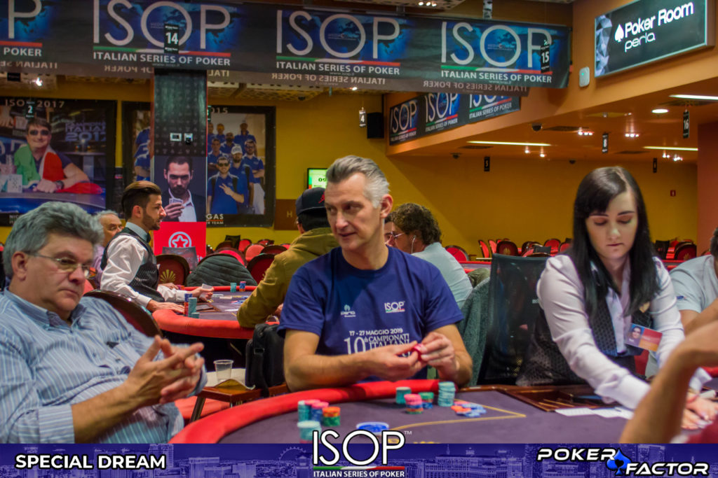 Alessio Pillon day 1C main event isop special dream