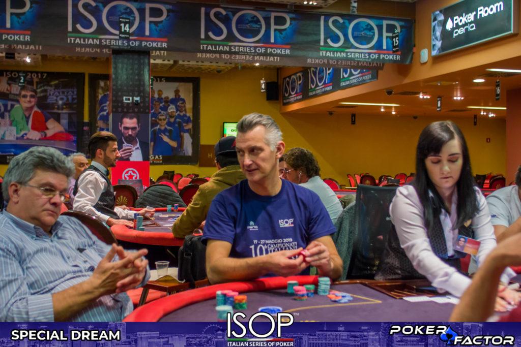 Alessio Pillon day 1C main event isop special dream