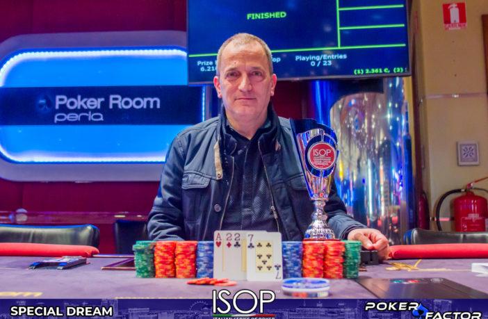 Michele Caroli vincitore ISOP Special Dream Omaha Main