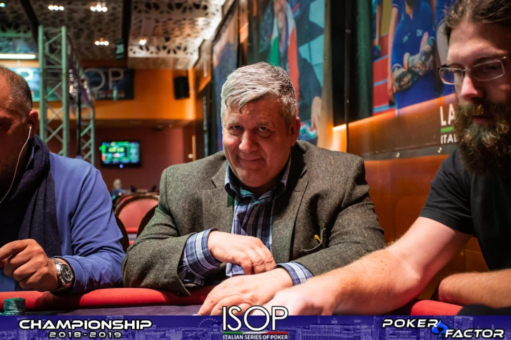 Rocco Pandiscia main event isop championship 5 evento