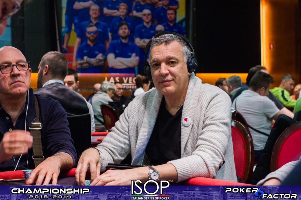 Giorgio silvestrin isop championship
