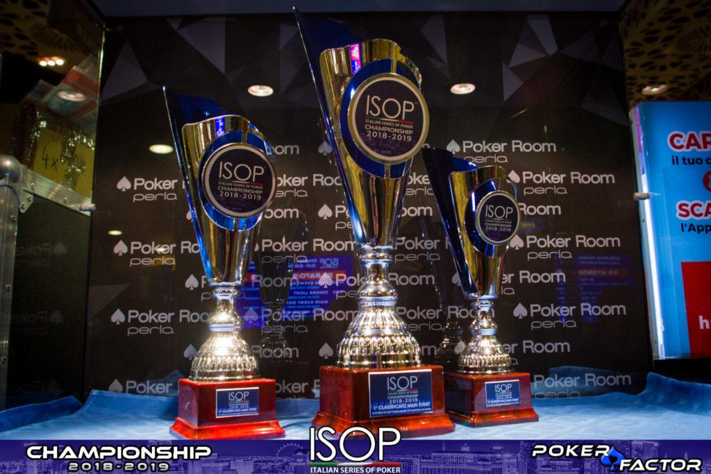 trofei main event isop championship