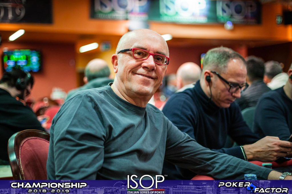 Aldo valletta ISOP Championship