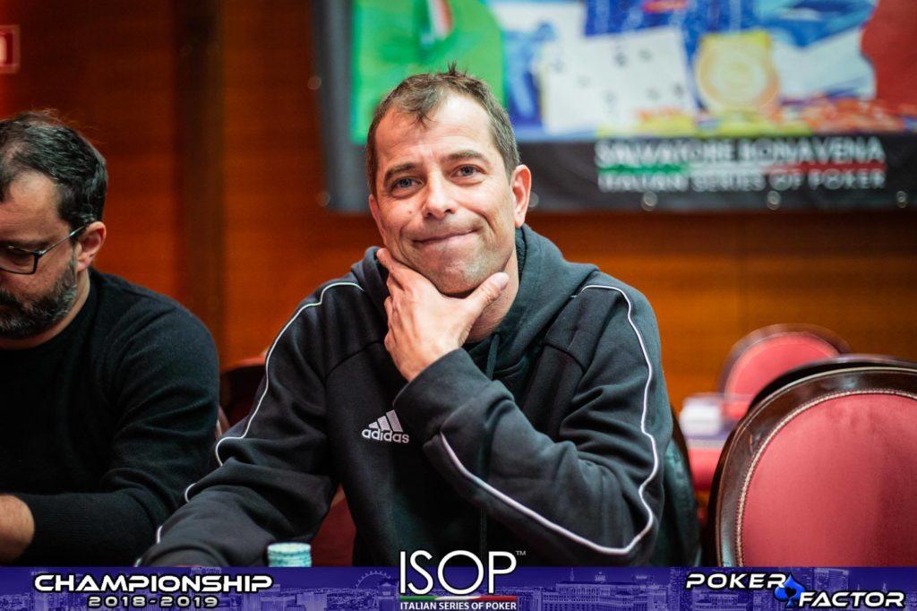 Paolo Desimone ISOP Championship