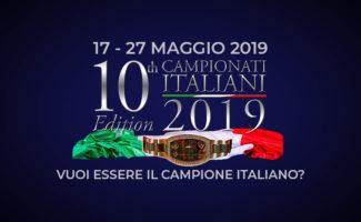 Campionati Italiani 2019 Copertina 2019