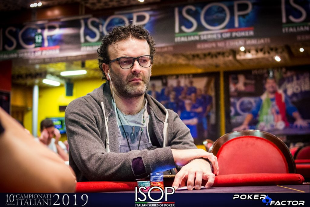 Sergio Castelluccio Campionati Italiani 2019 ISOP Italian Series of Poker