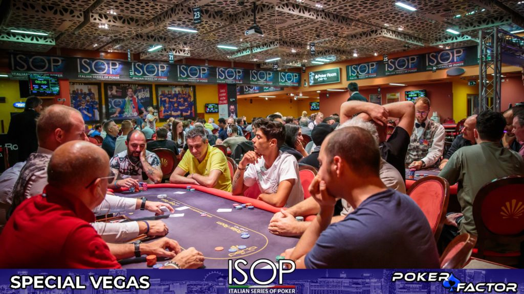 Sala piena ISOP Special Vegas