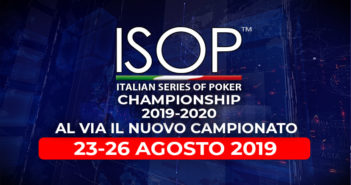 ISOP Championship 2019-2020 – Dal 23 agosto al via il nuovo Campionato