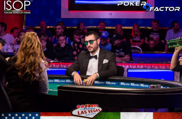 Dario Sammartino 3 left Main Event WSOP 2019 -8651