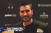 Dario Sammartino WSOP 2019 Main Event 3left 2-25 screenshot