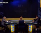 Claudio Di Giacomo all'Heads-Up finale del WPT DeepStack di Rozvadov. Segui lo streaming