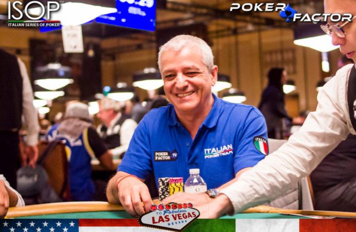 claudio di giacomo italian poker team las vegas wsop 2019 day 2