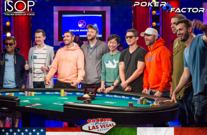dario sammartino final table wsop world series of poker 2019 main event-7996