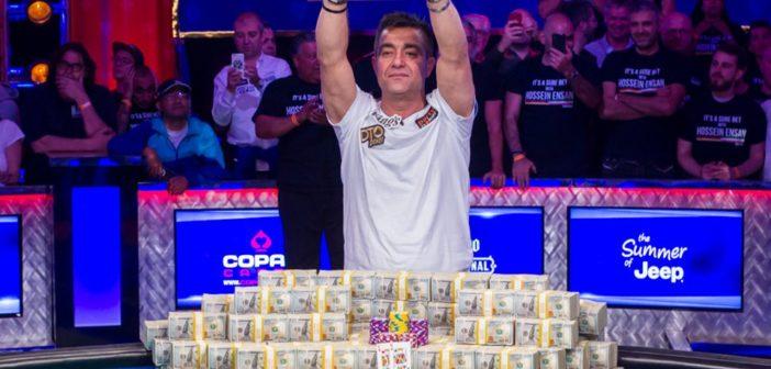 WSOP 2019 – Hossein Ensan è il Campione del Mondo 2019, runner up un immenso Dario Sammartino