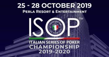 2° Evento ISOP Championship 2019-2020 dal 25 al 28 ottobre al PERLA