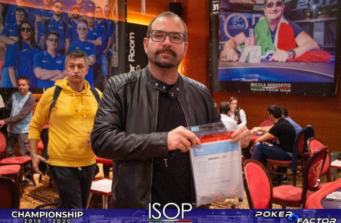 ISOP Championship Ottobre Main Event Gianni Cavallini